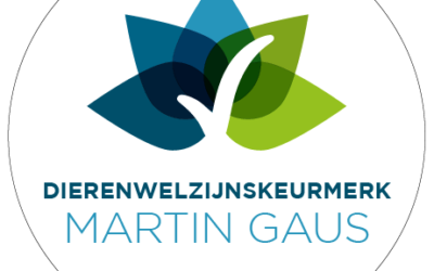 Martin Gaus Dierenwelzijnskeurmerk uitgereikt!